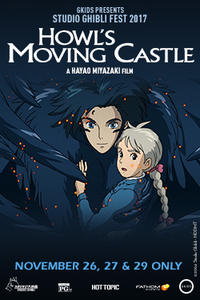 Howl's Moving Castle – Studio Ghibli Fest 2017 Movie Poster