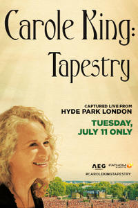 Carole King: Tapestry – Captured Live Movie Poster