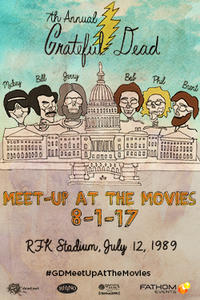Grateful Dead Meet Up 2017 Movie Poster