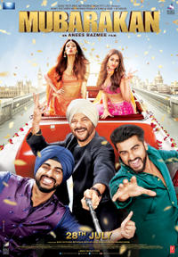 Mubarakan Movie Poster