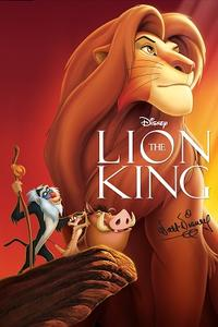 The Lion King Sing A-Long Movie Poster