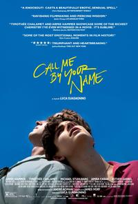 Call Me by Your Name poster