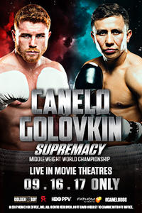 Canelo vs. GGG Supremacy (2017) Movie Poster