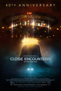 Close Encounters of the Third Kind 40th Anniversary Movie Poster