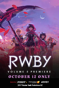 RWBY Volume 5 Premiere Movie Poster