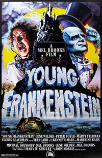 Young Frankenstein Movie Poster