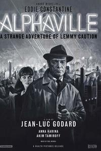 Alphaville, a Strange Case of Lemmy Caution Movie Poster