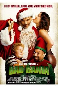 BAD SANTA/TRADING PLACES Movie Poster