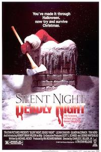 SILENT NIGHT, DEADLY NIGHT 1, 3 & 5 Movie Poster