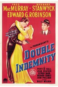 DOUBLE INDEMNITY/THE LOST WEEKEND Movie Poster