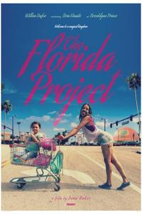 THE FLORIDA PROJECT/SHADOW OF THE VAMPIRE Movie Poster