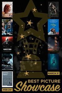 2018 Oscars Best Picture Showcase Day 1 Movie Poster