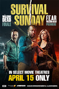 Survival Sunday: The Walking Dead/Fear the Walking Dead Movie Poster