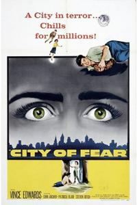 KISS ME DEADLY/CITY OF FEAR Movie Poster