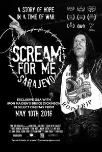 Scream for Me Sarajevo Movie Poster