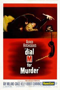 Dial M for Murder 3D Movie Poster