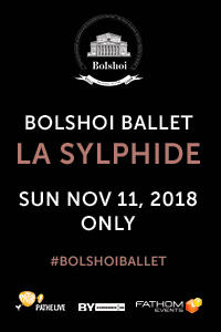 Bolshoi Ballet: La Sylphide (2018) Movie Poster