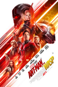 Ant-Man and the Wasp 3D Movie Poster