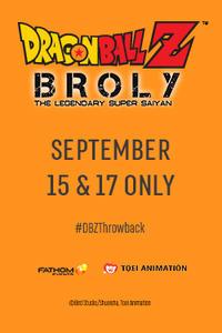 Dragon Ball Z: Broly – The Legendary Super Saiyan Times