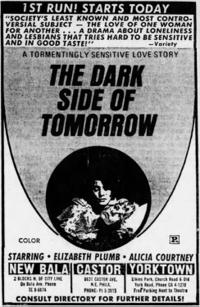 THE DARK SIDE OF TOMORROW Movie Poster
