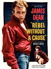 REBEL WITHOUT A CAUSE/THE OUTSIDERS Movie Poster