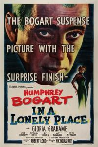 IN A LONELY PLACE/DEADLINE U.S.A. Movie Poster