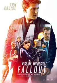 Mission: Impossible - Fallout 3D Movie Poster