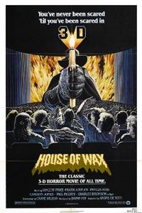 HOUSE OF WAX/THE MAD MAGICIAN Movie Poster