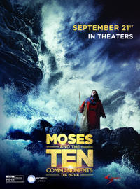 Moses and the Ten Commandments: The Movie Movie Poster