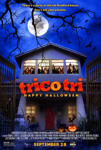 Trico Tri Happy Halloween Movie Poster