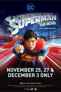 Superman 40th Anniversary Movie Poster