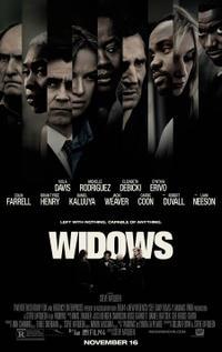 widows 2018 poster - Christmas Movies On Tonight