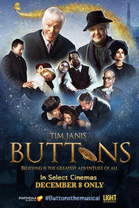 Buttons, A New Musical Film Movie Poster