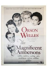 THE MAGNIFICENT AMBERSONS/THE LADY FROM SHANGHAI Movie Poster