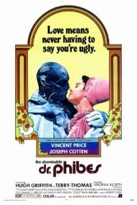 THE ABOMINABLE DR. PHIBES/THE DEVIL'S RAIN Movie Poster