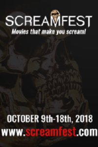 SCREAMFEST DISCARNATE Movie Poster