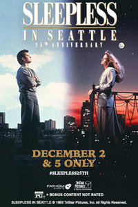 Sleepless in Seattle 25th Anniversary Movie Poster