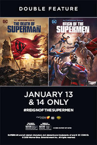 Double Feature: The Death of Superman / Reign of the Supermen Movie Poster