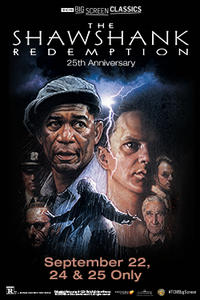 The Shawshank Redemption 25th Anniversary (1994) presented by TCM Movie Poster