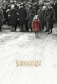 Schindler's List 25th Anniversary Movie Poster