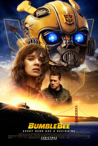 Bumblebee 3D Movie Poster