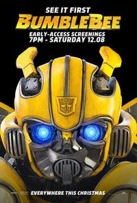 Bumblebee Early-Access Screenings poster