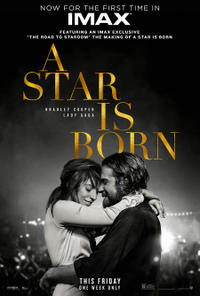 A Star is Born: The IMAX 2D Experience Movie Poster