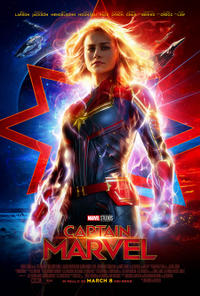 Captain Marvel 3D Movie Poster