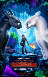 Fandango Early Access: How to Train Your Dragon: The Hidden World Movie Poster