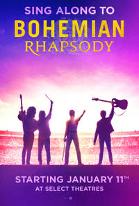 Bohemian Rhapsody Sing Along Movie Poster