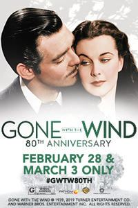 Gone with the Wind 80th Anniversary Movie Poster