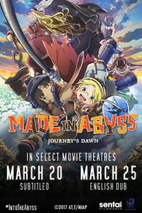 Made in Abyss: Journey's Dawn Movie Poster