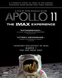 Apollo 11: The IMAX 2D Experience Times - Movie Tickets ...
