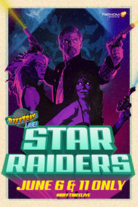 RiffTrax Live: Star Raiders Movie Poster